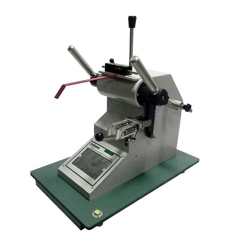 Digital elmendorf type tearing strength tester