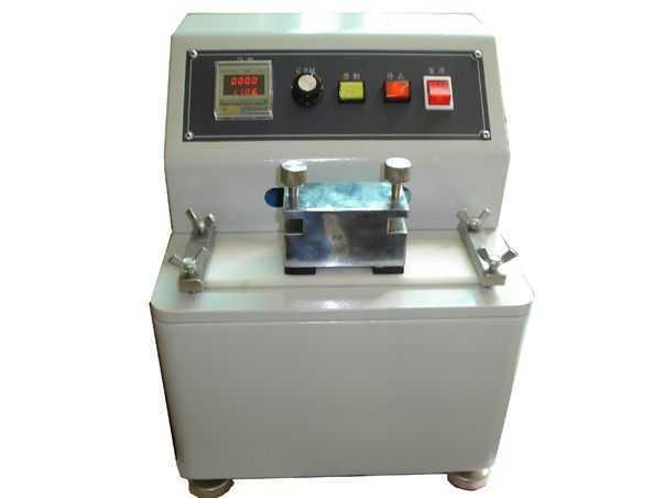 Ink Abrasion Color Fastness Testing Machine