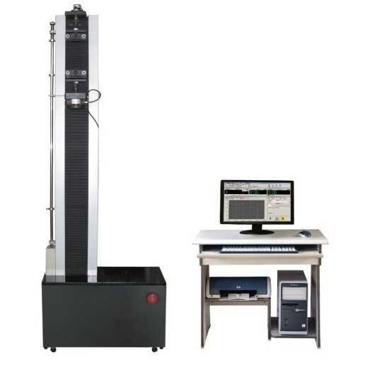 Single-arm material testing machine for var