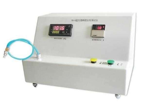 Leakage negative pressure tester for infusion device