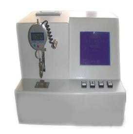 Medical injection needle rigidity tester
