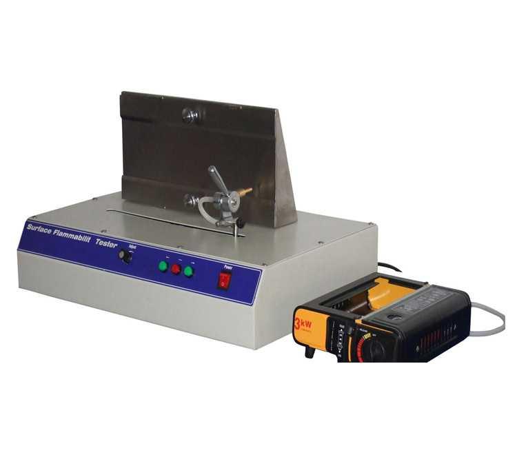 Fabric Surface Flammability Tester