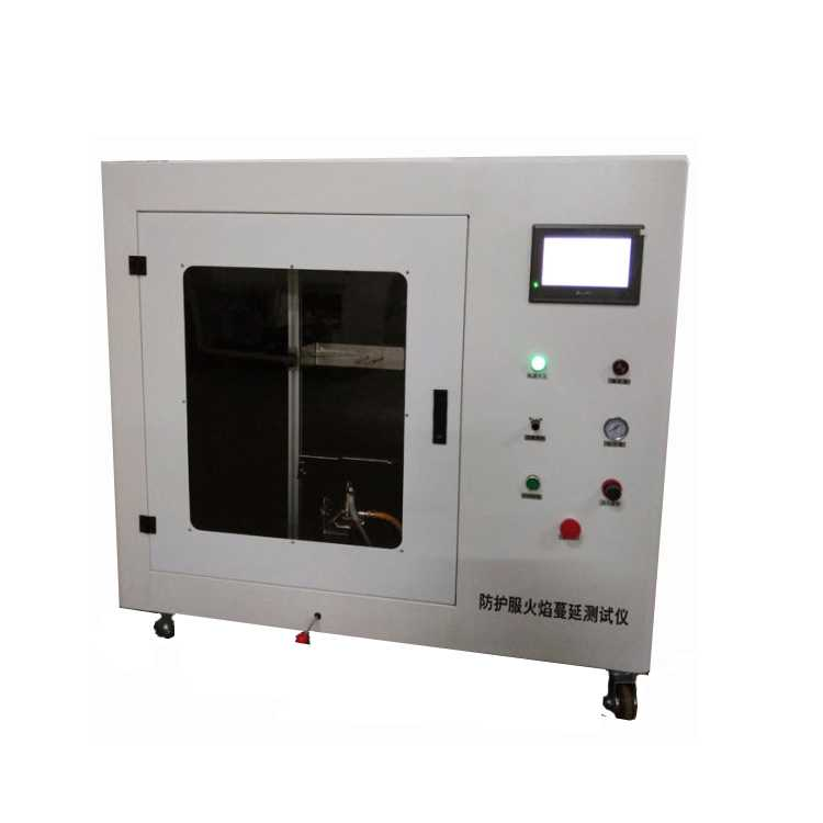 Protective Clothing Vertical Flame Spread Tester